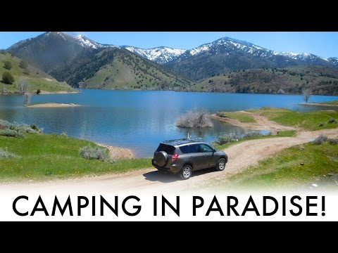 Camping in Paradise! – A Quick SUV Camping/Vandwelling Trip