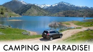Camping in Paradise! – A Quİck SUV Camping/Vandwelling Trip