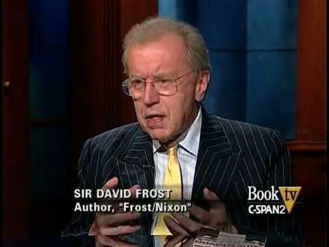 book tv sir david frost quotfrostnixonquot youtube