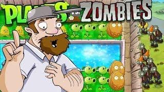 Растения против зомби БЕЗУМНЫЙ ДЕЙВ против ЗОМБИ Plants Vs Zombies