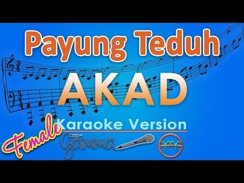 Payung Teduh - Akad FEMALE (Karaoke Lirik Tanpa Vokal) by GMusic