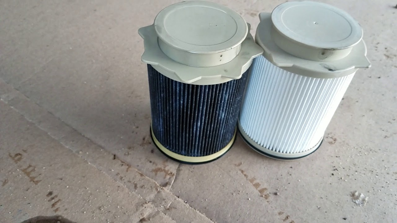 fuel filter change on a 6 7 cummins  [ 1280 x 720 Pixel ]