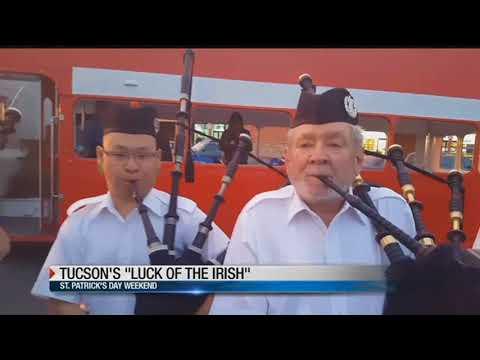 Tucson Highlanders & St. Patrick's fun