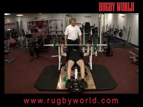 Weightlifting For Rugby Fitness The Bench Press
