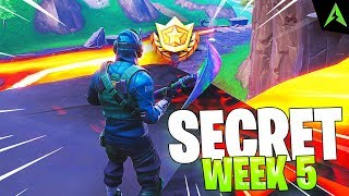 Sahi Secret - SEMAINE 5 - Saison 8 à Fortnite.