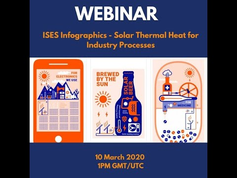 ISES Webinar: ISES Infographics - Solar Thermal Heat for Industry Processes