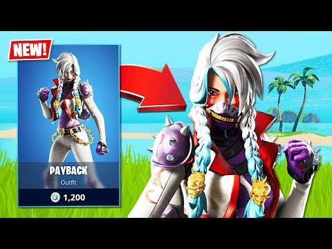 New Payback Skin! (Fortnite Battle Royale)
