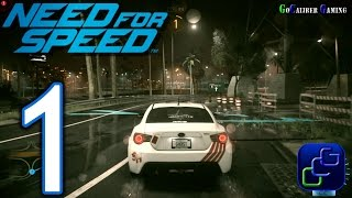 NEED FOR SPEED 2015 PS4 Walkthrough - Gameplay Part 1 -