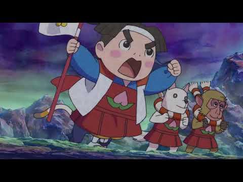 Doodle Champion Island Games: Momotaro & Oni Champion Intro