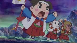 Doodle Champion Island Games: Momotaro \u0026 Oni Champion Intro