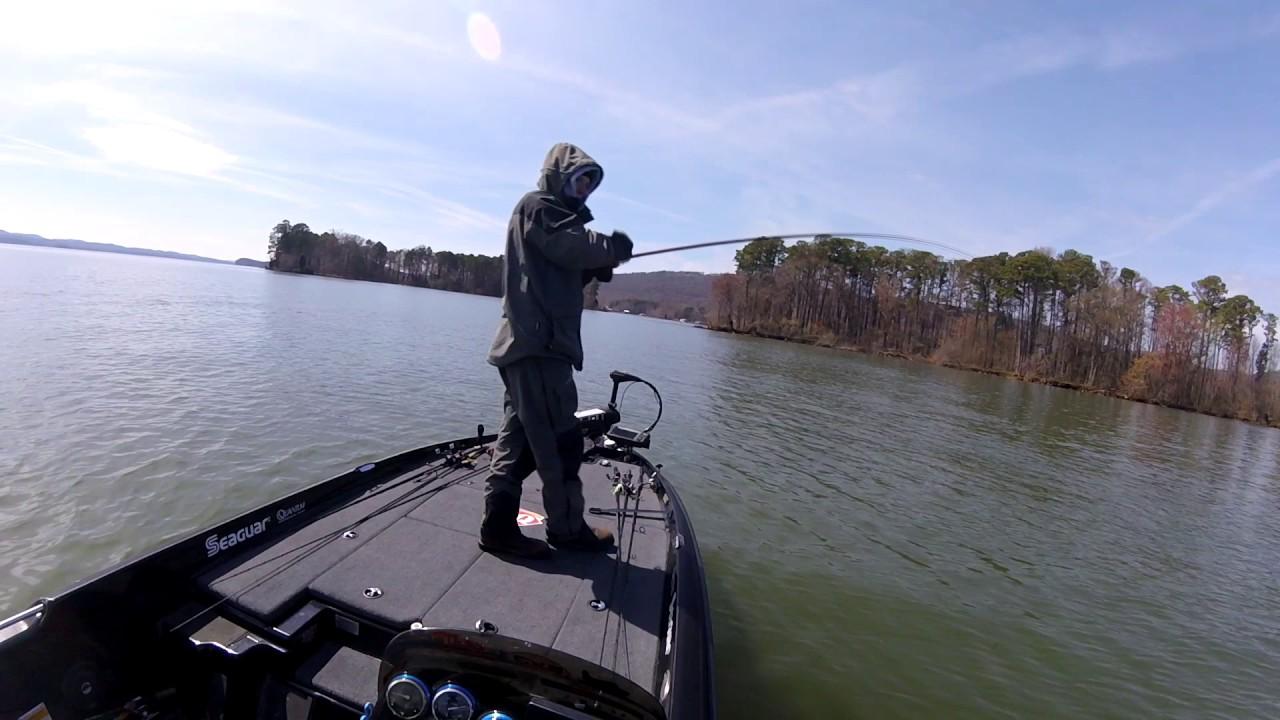 Spring Bass Fishing Lake Guntersville Youtube