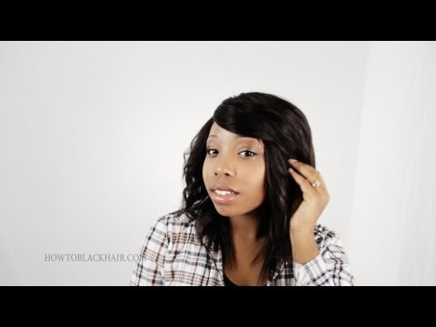invisible-part-sew-in-finished-results-hairstyle-on-natural-hair-tutorial-part-7