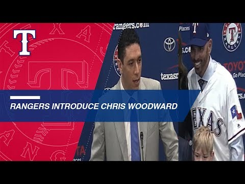 Rangers introduce Chris Woodward as manager for 2019