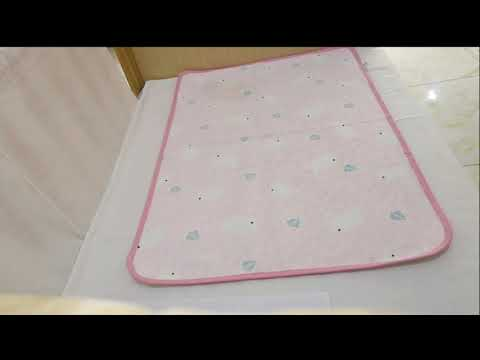 Waterproof Baby Changing Pad 100% Cotton