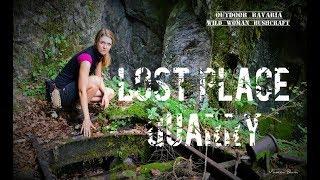 Lost Place - Quarry Hiking - Vanessa Blank - Wild Woman Bushcraft Adventure