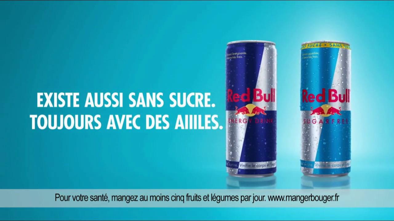"""Red Bull sans sucre toujours avec des aiiiles """"Les termites au travail"""" Pub 25s"""