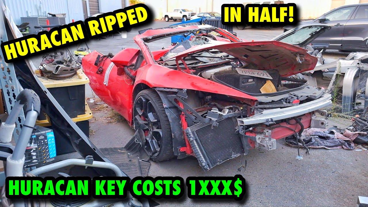 Rebuilding The CHEAPEST Lamborghini Huracan EVER! [Part 5] (WE GOT THE KEY!!!)