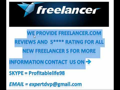 Freelancer 5***** Rating And Review on your choice .