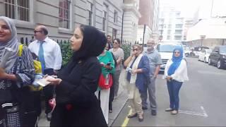 Nawaz Sharif Airport Departure - Avenfield House Live London