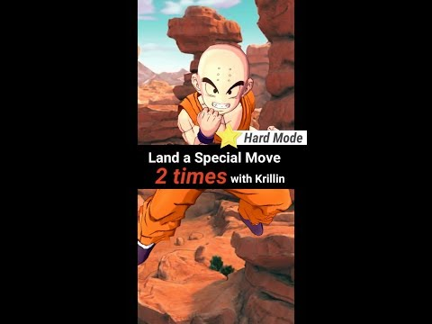 DB Legends - Land A Special Move 2 Times With Krillin (Hard Mode)