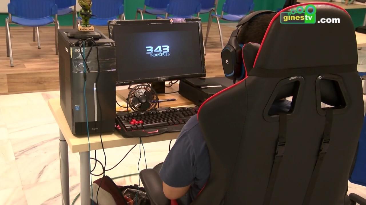 Los amantes de los videojuegos disfrutaron de una Lan Party en la Casa de la Juventud