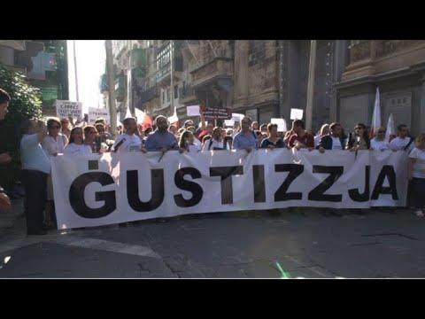 afpes: Malta busca unidad tras el asesinato de periodista