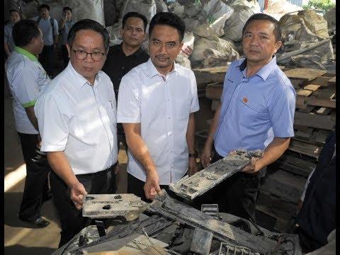 Authorities shut down five more unlicensed plastic factories in Klang