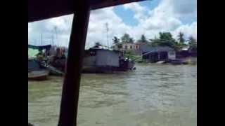 Mekong Delta motor boat