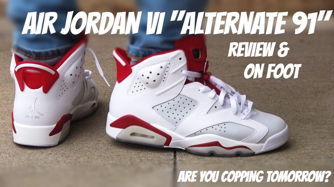 3063eb006a2d Cheap Air Jordan 6 Retro 384664-113 Alternate 91 Mens Sneakers Basketball  Shoes