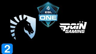 Liquid vs paiN Gaming Game 2 ESL One Birmingham 2018 Highlights Dota 2