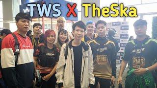 Vlog พิเศษ TWS X TheSka ในงาน PubG