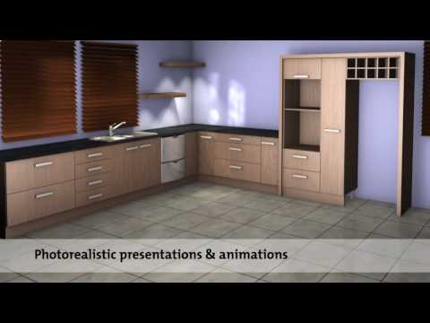 Impressive HD 3D rendering & animation - imos interior design software