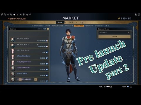 Skyforge - Pre Launch Ascension update first look part 2