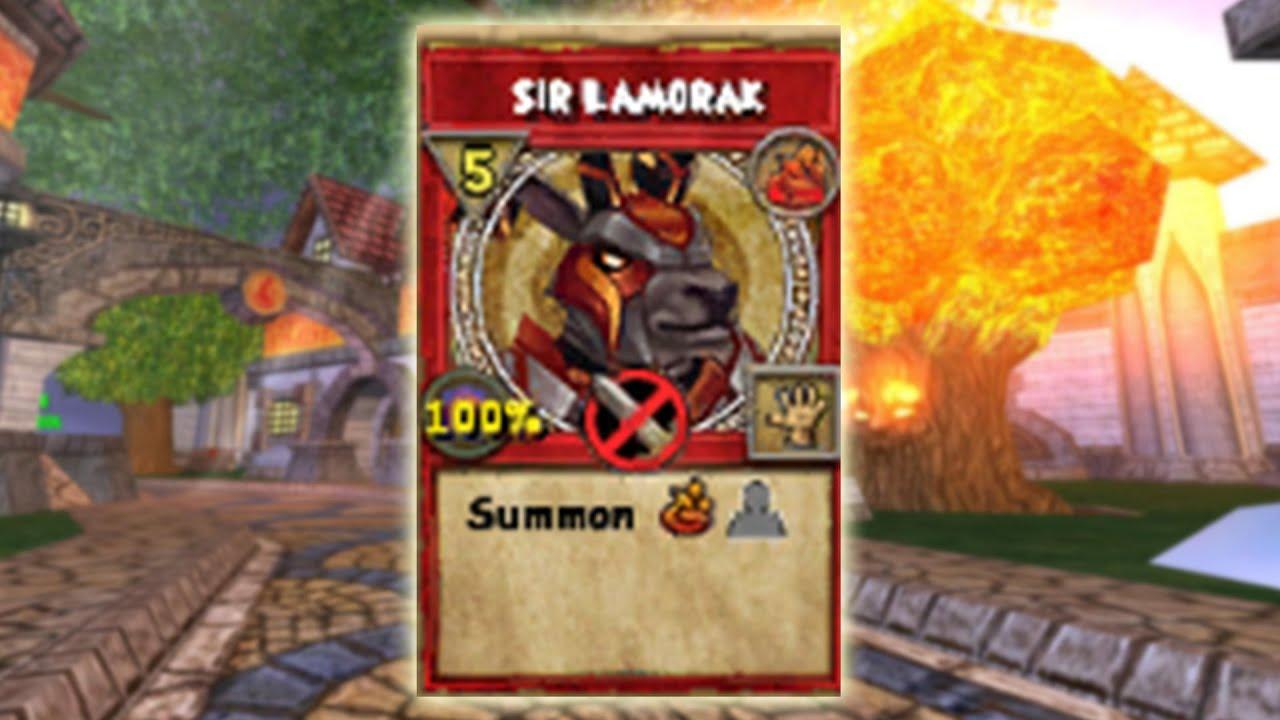 Wizard101: Sir Lamorak! - Lvl 75 Fire Minion