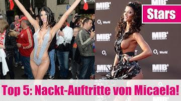 Micaela Schäfer NACKT! Ihre 5 heißesten Auftritte!
