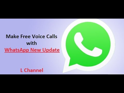 Make Free Voice Calls with WhatsApp New Update / How to make WhatsApp Calling from Android Phones