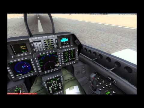 FSX IRIS F-22 Raptor Startup Sequence HD
