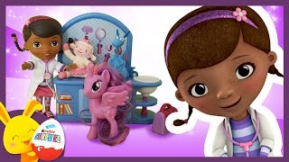 Docteur la peluche - histoire de jouets enfants - Disney Junior - Petit Poney- Touni Toys Titounis