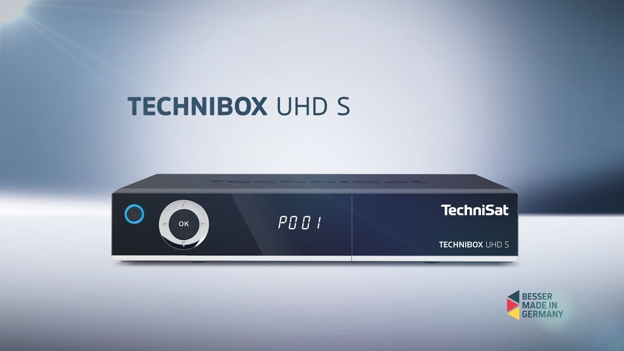Video: Short Review Technibox UHD S | UHD/4K DigitalSat-Receiver mit App Steuerung | TechniSat