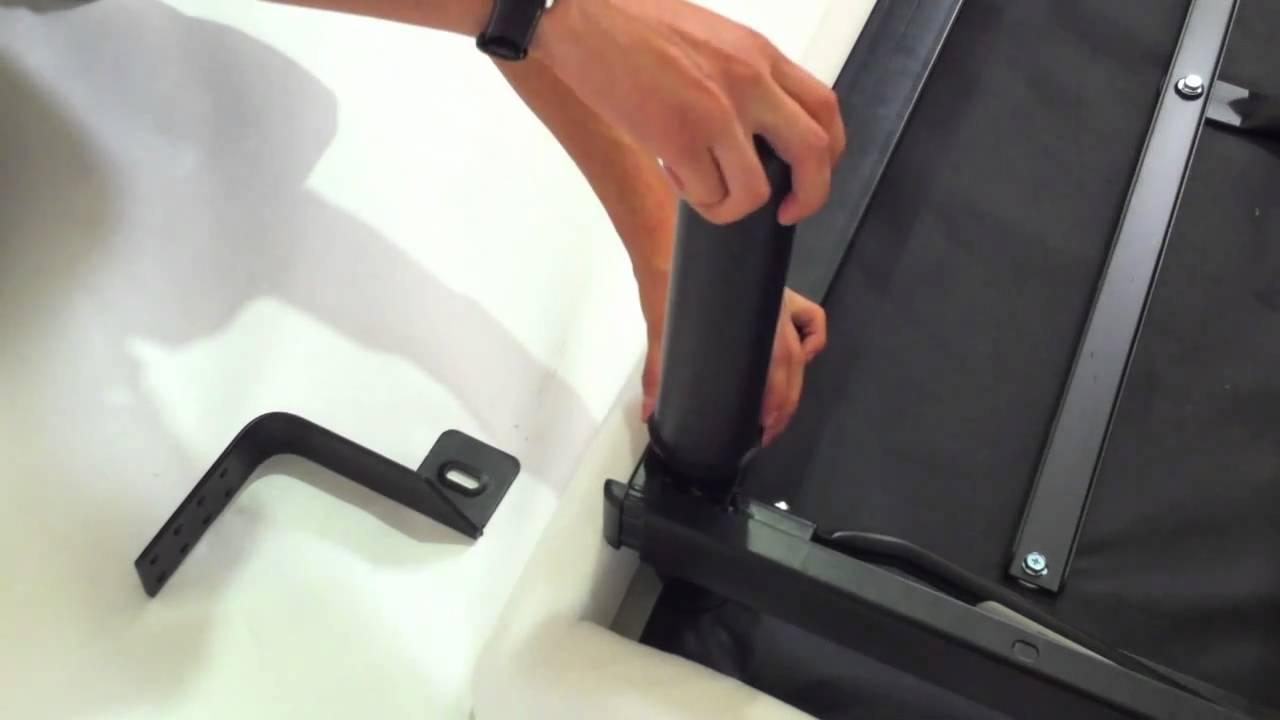 Ergomotion 100 Series Head Board Bracket Installation
