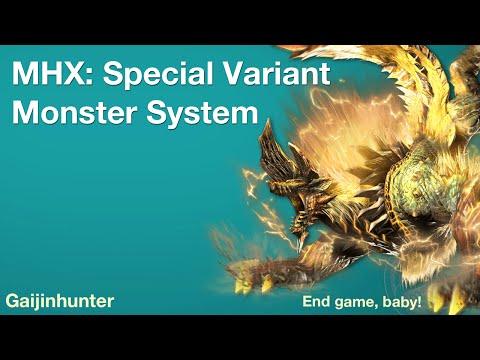 Monster Hunter Generations (MHX): Deviant system
