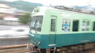 京阪 石山坂本線 600形 603-604 京阪旧塗装 700形 707-708 滋賀里 20190614