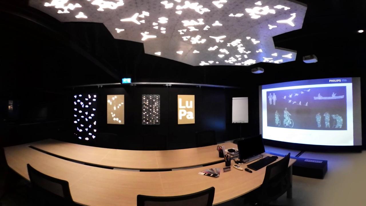 Philips Luminous Patterns Showroom