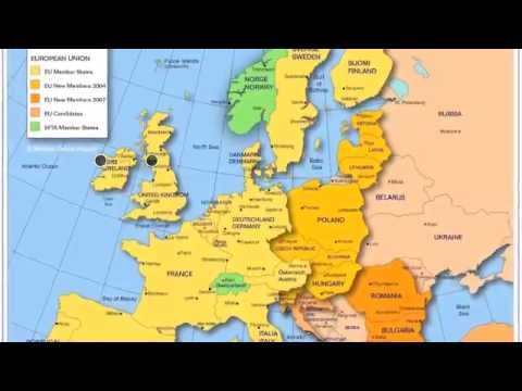 Learn Europe Geography Vocabulary Rap Song with Fluency MC - YouTube