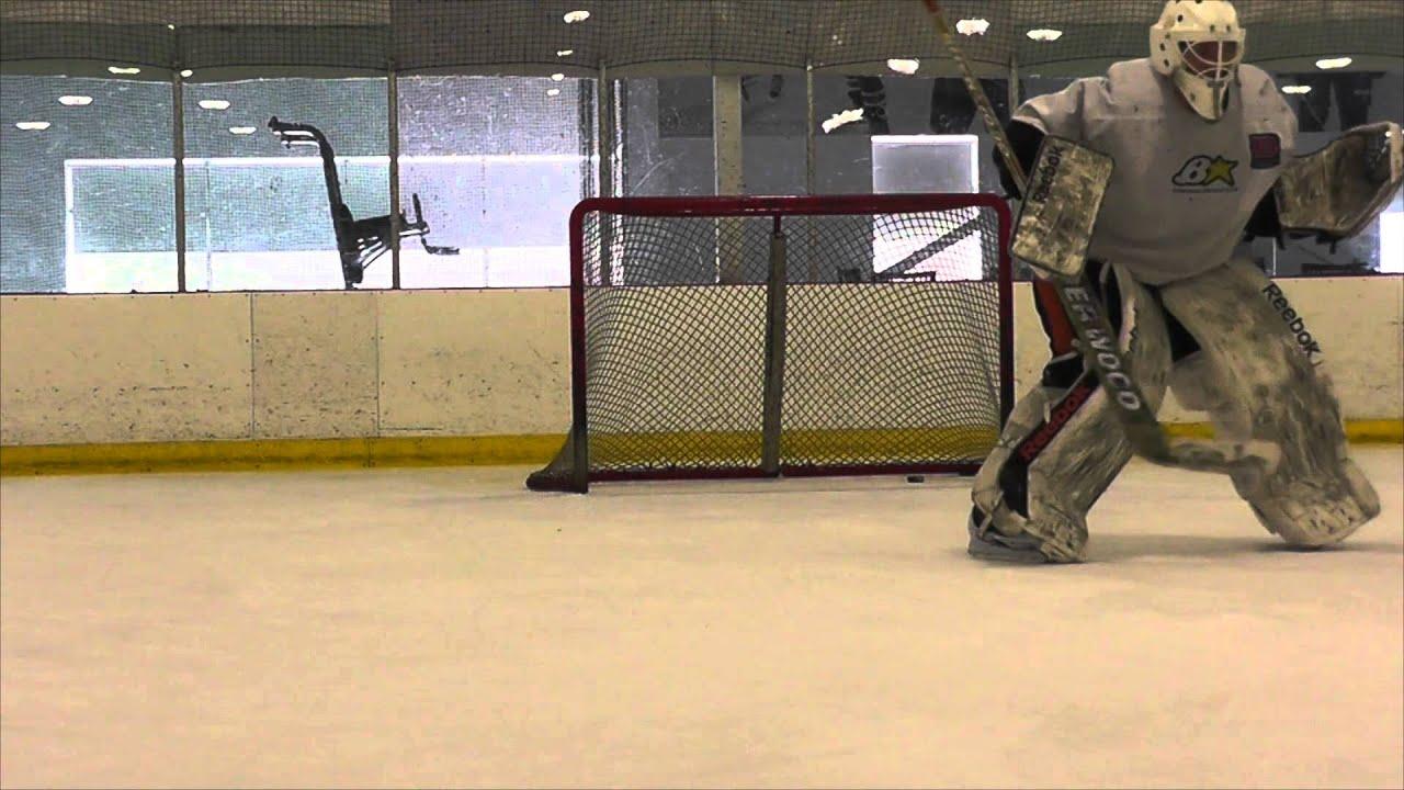 Eric Alexander Ice Hockey Goalie Training Video Youtube