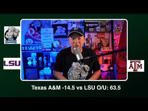 Texas A&M vs LSU 11/28/20 Free College Football Picks and Predictions CFB Tips