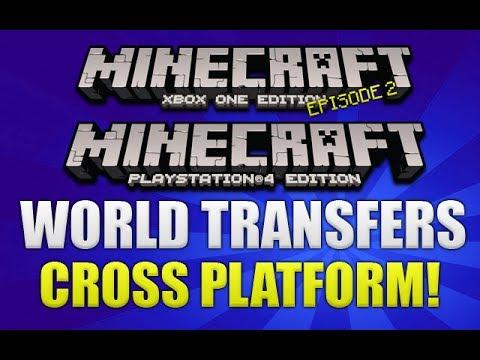 Minecraft Xbox One & PS4 Breakdown Cross Platform Play & Transferable  Worlds [EP2]