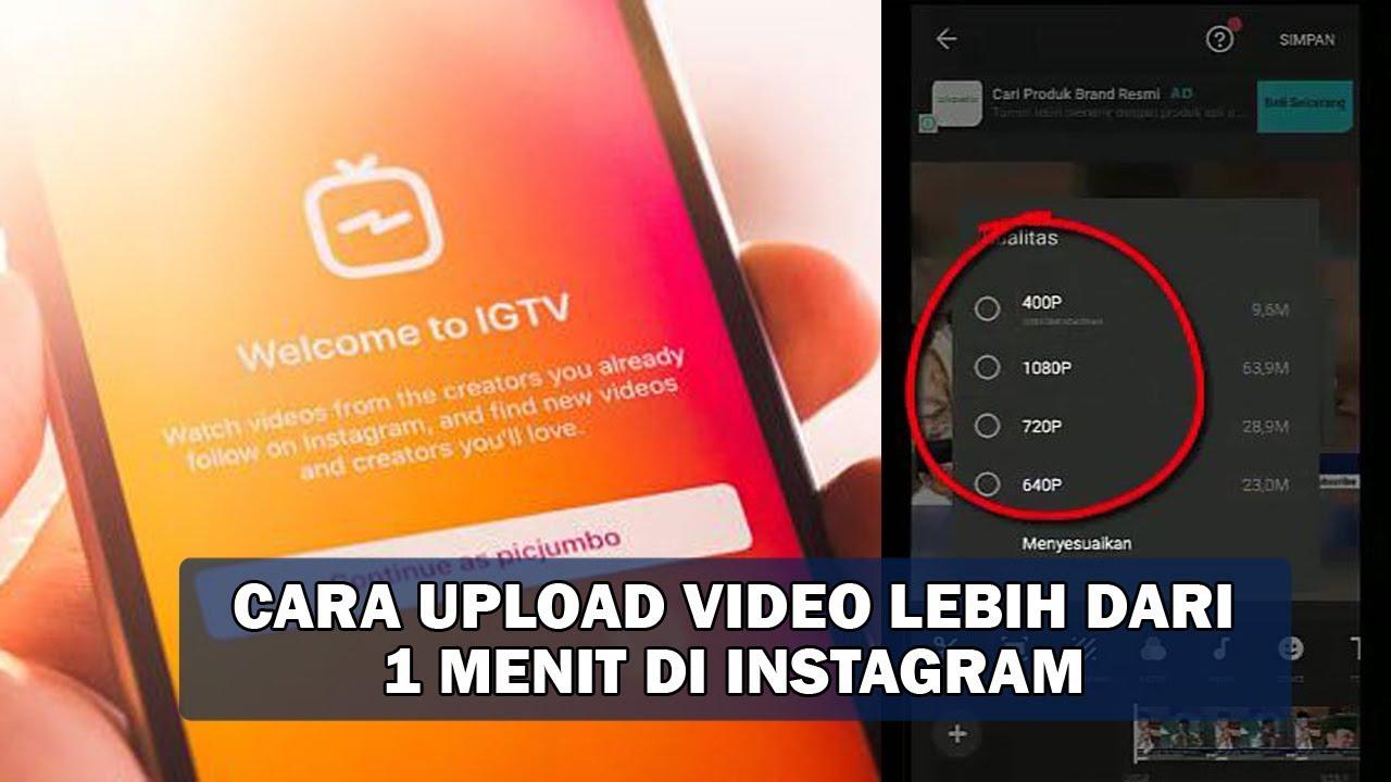 2 Cara Upload Video Di Instagram Full Tanpa Aplikasi