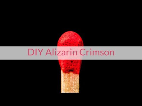 Mixing Up Your Own Alizarin Crimson