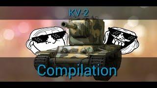WoT Blitz - KV-2 Compilation #10!